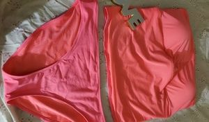 Aerie neon plus bathing suit